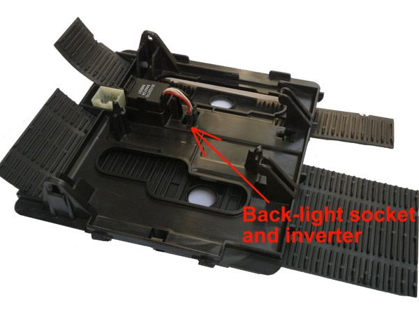 jeep bezel back-light inverter