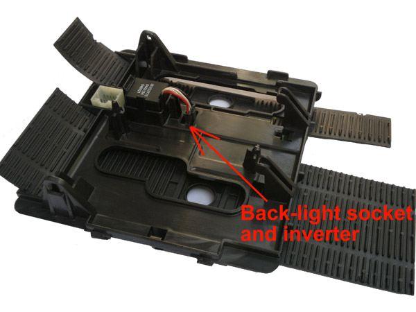 jeep bezel back-light inverter