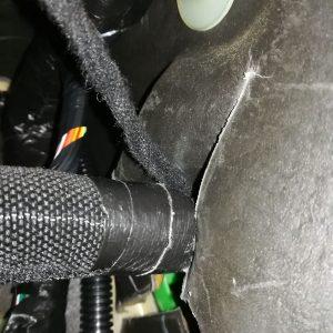 Jeep WJ large tyres axle ratio change diy